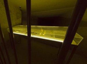 Découverte dans les carrières souterraines